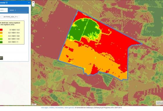 Notícia 270 - Visor agroforestal per millorar el maneig de les parcel·les agrícoles