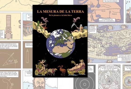 """Notícia 260 - L'ICGC ha publicat el còmic """"La mesura de la Terra"""""""