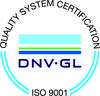 DNV-GL ISO 9001 Quality System Certification