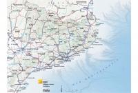 Mapa comunicacions relleu suau