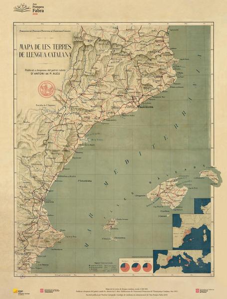 Mapa de les terres de llengua catalana
