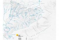 Mapa físic rius gris