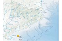 Mapa físic rius suau