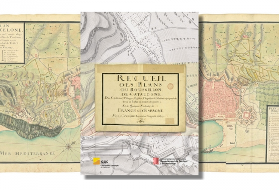 Notícia 226 - Publicació del Recueil des Plans du Roussillon, de Catalogne... (1719), de l'enginyer militar Jacques Pennier